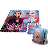 Disney Frozen 2 vloerpuzzel  - 90 x 90 cm - 9 delen