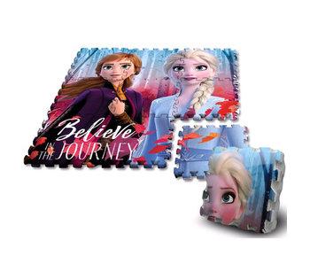 Disney Frozen Bodenpuzzle-Schaum - 9 Teile