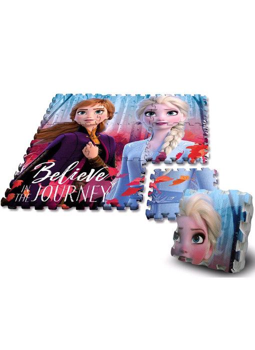 Disney Frozen puzzle de sol en mousse - 9 pièces