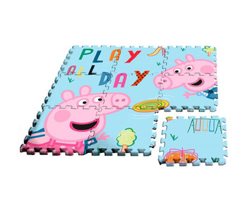 Peppa Pig floor puzzle foam - 9 parts