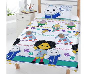 Moon & Me Junior Bettbezug Time for Tea 120 x 150 cm
