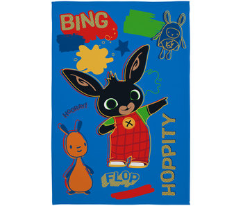 Bing Bunny Couverture polaire Rebel Rules 100 x 150 cm