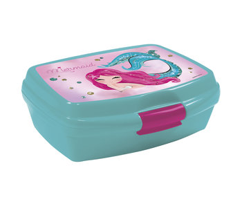 Zeemeermin Lunch box magical 15 cm