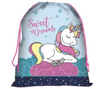 Unicorn Sweet Dreams Gymbag 44 x 34 cm