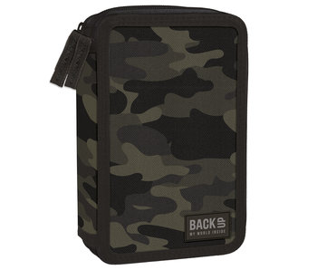 Back Up Filled pencil case Camouflage