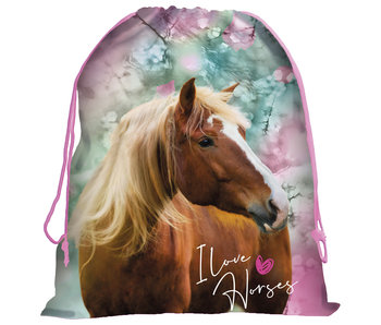 Animal Pictures Horse Gymbag 44 x 34 cm