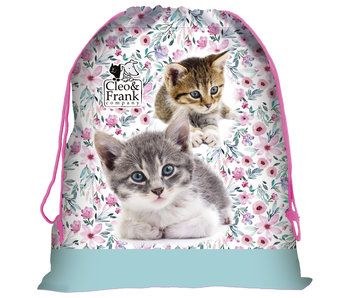 Cleo & Frank Chatons Gymbag 44 x 34 cm
