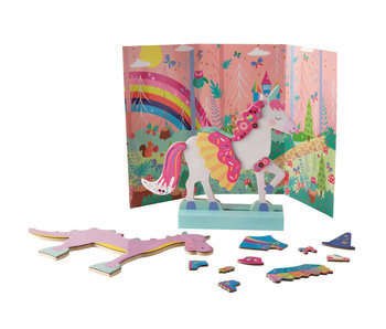Floss & Rock Magnetic dress up fantasy animals