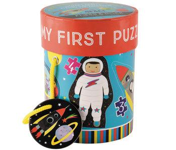 Floss & Rock Space puzzels 4 stuks
