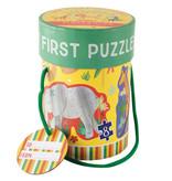 Floss & Rock Jungle - puzzles - 11 x 15 cm - 4 pièces