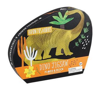 Floss & Rock Puzzle dinosaure 20 pièces