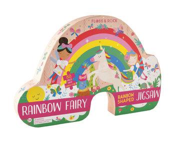 Floss & Rock Regenbogenfee Puzzle 80 Teile