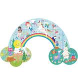 Floss & Rock Rainbow Fairy - puzzel - 80 stukjes - 60 x 40 cm - Multi