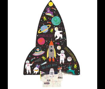 Floss & Rock Space puzzle 80 stukjes