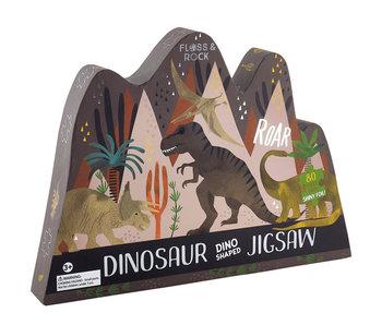 Floss & Rock Puzzle dinosaure 80 pièces