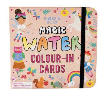 Floss & Rock Regenbogenfee Aquarellkarten