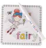 Floss & Rock Rainbow Fairy - cartes aquarelles - 19 x 18 cm - Multi
