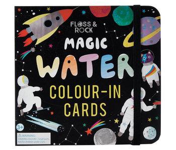 Floss & Rock Cartes de couleur de l'eau de l'espace