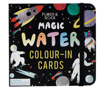 Floss & Rock Space water kleur kaarten