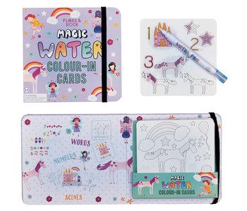 Floss & Rock Fairy Unicorn Aquarellkarten
