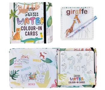Floss & Rock Cartes de couleur Jungle Water
