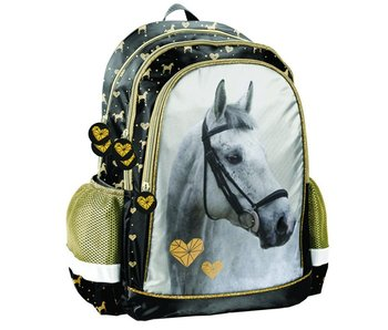 Animal Pictures Golden Horse backpack 41 x 30 x 18 cm