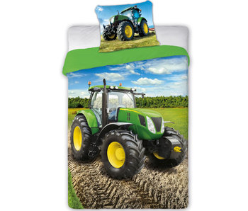 Traktor duvet cover 140x200cm 70x90cm