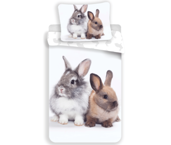 Animal Pictures Bettbezug Bunny Friends 140 x 200