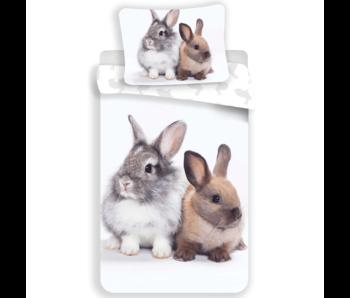 Animal Pictures Dekbedovertrek Bunny Friends 140 x 200