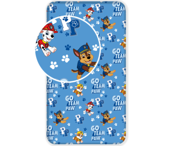 PAW Patrol Fitted sheet Go Team Paw 90 x 200 cm