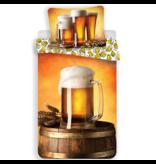 Bier Bettbezug Krug - Single - 140 x 200 cm - Multi