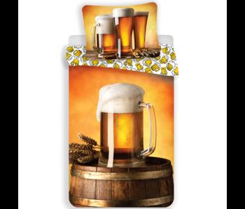 Bier Bettbezug Krug 140 x 200