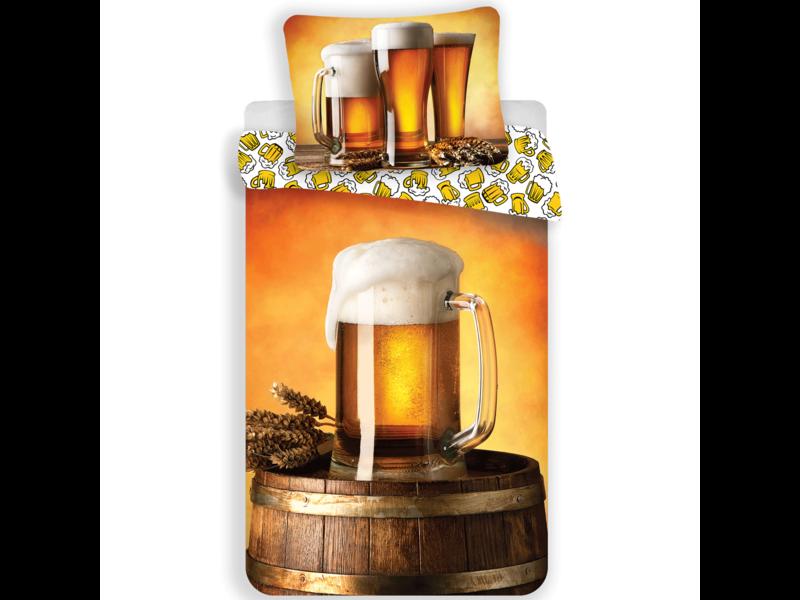 Bier Housse de couette Chope - Unique - 140 x 200 cm - Multi