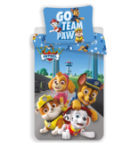 PAW Patrol Housse de couette Go Team Paw - Simple - 140 x 200 cm - Coton