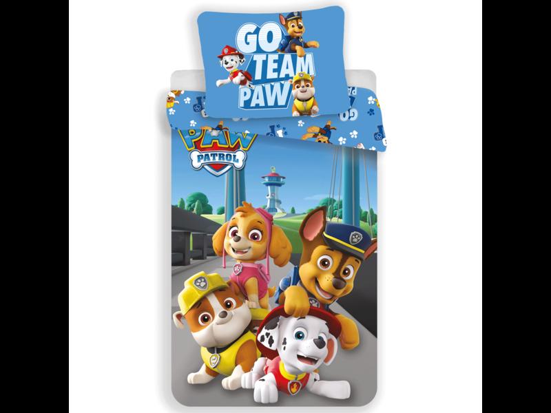PAW Patrol Go Team Paw duvet cover - Single - 140 x 200 cm - Cotton