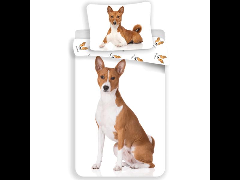 Animal Pictures Bettbezug Hund - Single - 140 x 200 cm - Weiß