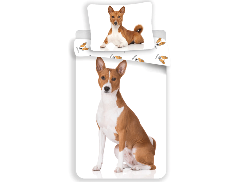 Animal Pictures Duvet cover Dog - Single - 140 x 200 cm - White