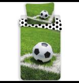 Voetbal Duvet cover Corner - Single - 140 x 200 cm - Green