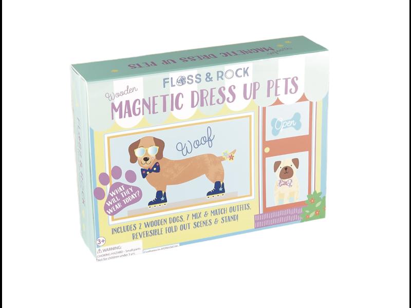 Floss & Rock Magnetische Dressing Haustiere 37 Stück