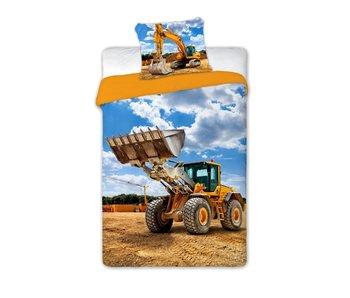 Traktor Duvet cover 140 x 200 + 70x90cm 100% cotton
