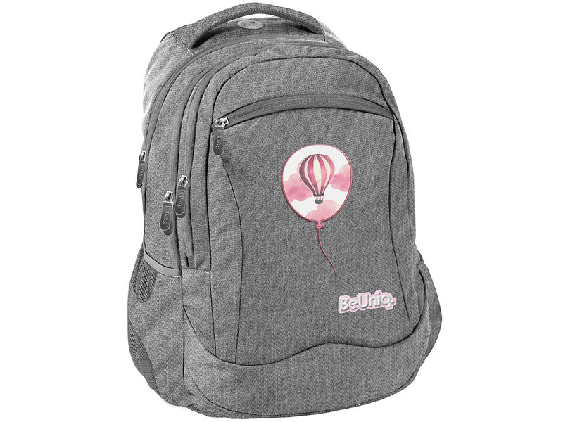 BeUniq Balloon Backpack - 43 x 30 x 20 cm - Gray
