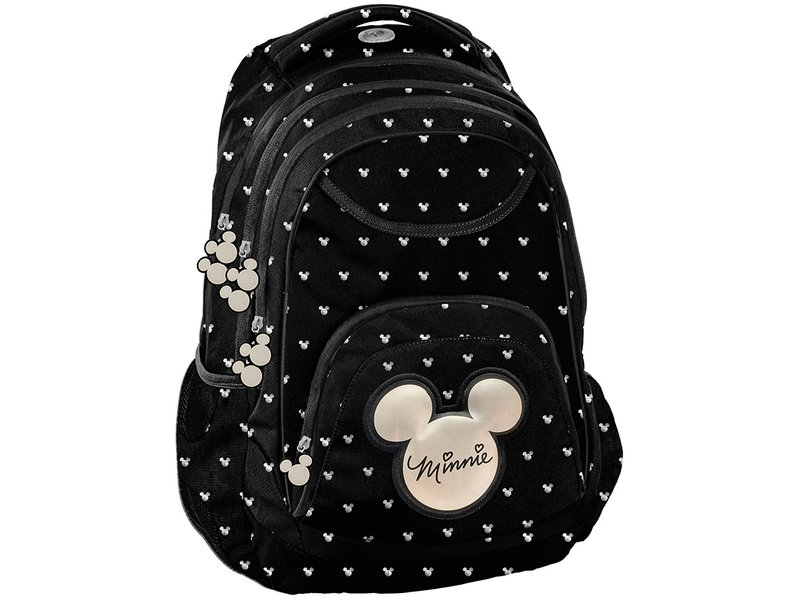 Disney Minnie Mouse Backpack - 41 x 31 x 18 cm - Black