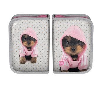 Studio Pets Hooded puppy Gevuld etui 19.5 cm