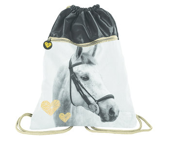 Animal Pictures Gymbag Golden Horse - 45 x 34 cm
