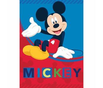 Disney Mickey Mouse Fleeceplaid 100 x 140 cm