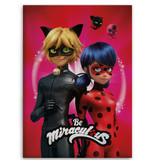 Miraculous Ladybug Plaid - 100 x 140 cm - Rood