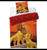 Disney The Lion King Duvet cover - Single - 140 x 200 cm - Orange