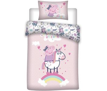 Peppa Pig Duvet cover Unicorn 140 x 200