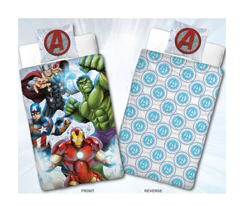 Marvel Avengers Dekbedovertrek Flanel Team 140 x 200