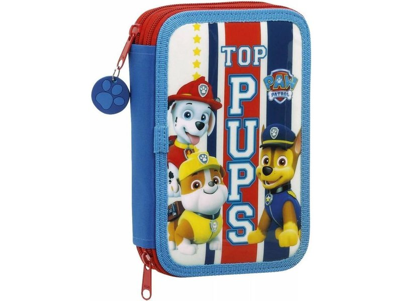 PAW Patrol Double filled pouch - 34 pieces - Blue